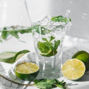 woda mieta limonka